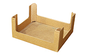 Corner Post Tray for Snack Food