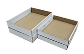 4 Corner Tray with Rollover Sidewall