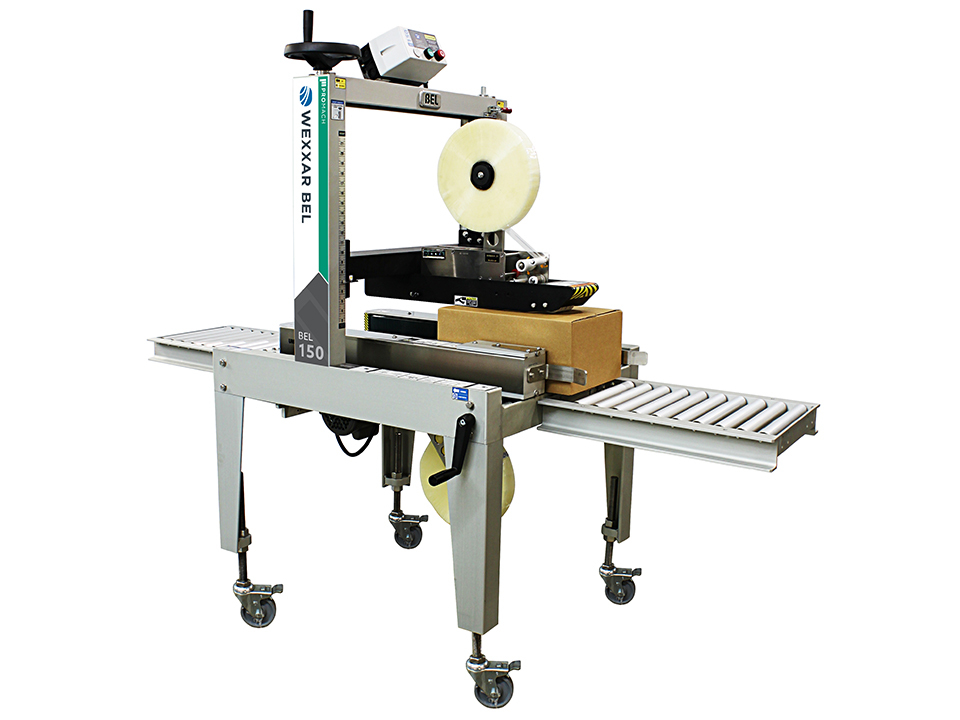 BEL 150 - Pressure Sensitive Case Taper - Pressure Sensitive Tape Case Sealing Equipment