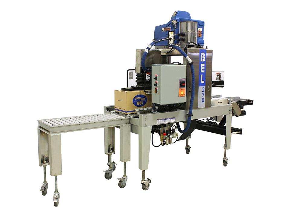 BEL 270 - Packaging Machinery Showcase - Semi-Automatic Hot Melt Sealing