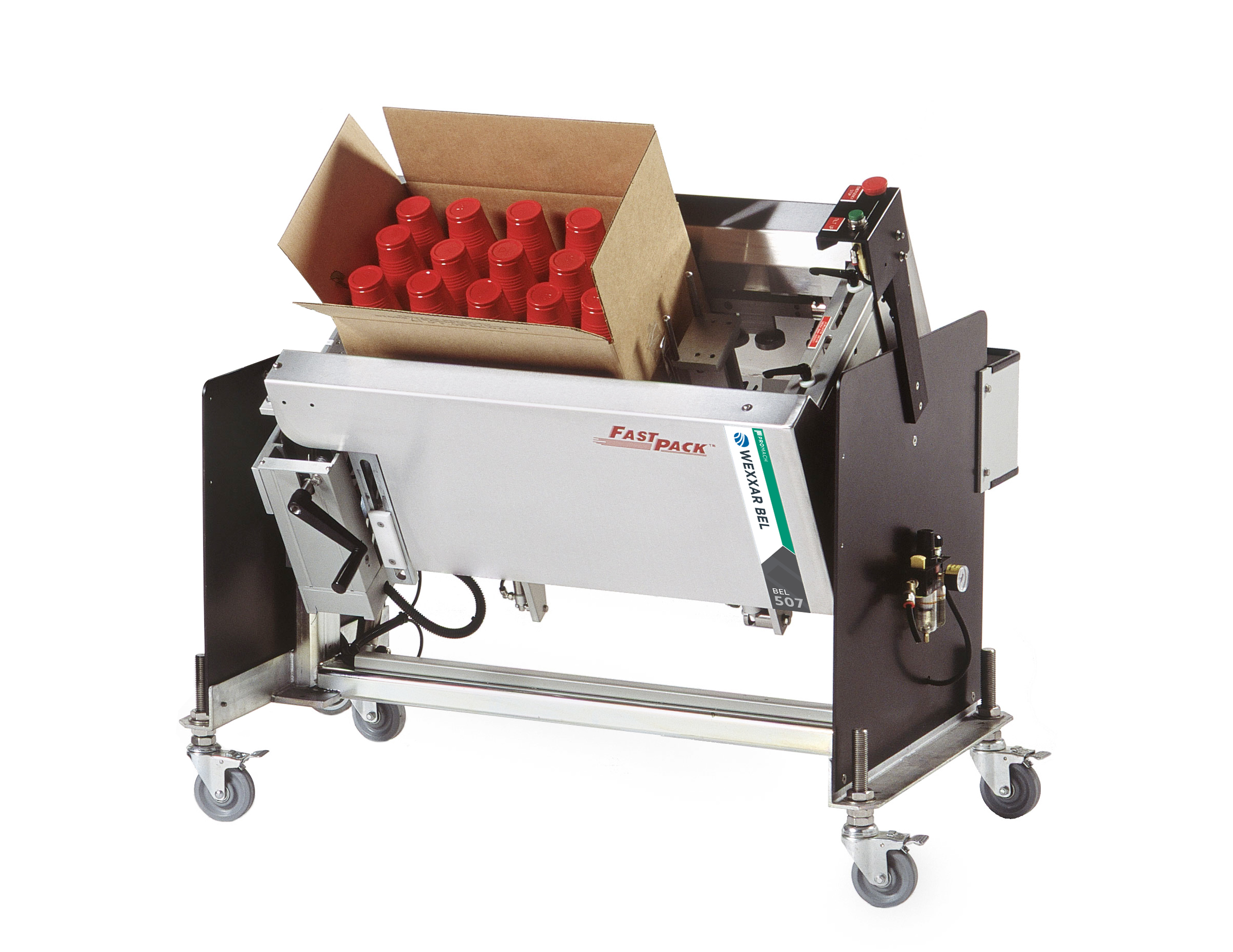 Semi Automatic Case Forming Case Erector Tilting Case
