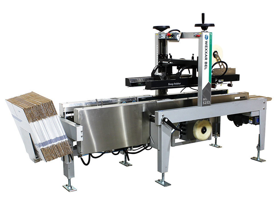BEL 5252u - Semi-Automatic Form, Pack & Seal Unitized Machine - Form, Pack & Seal Systems