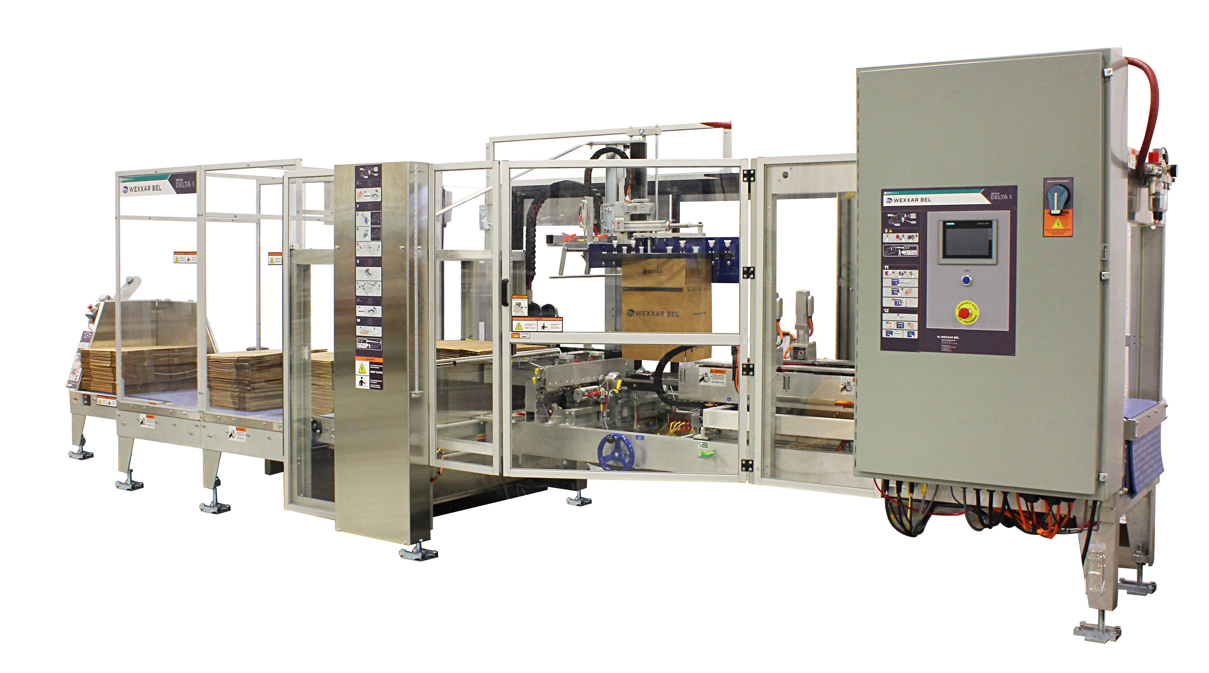 Delta 1 Machine - Case Forming and Case Erecting Systems