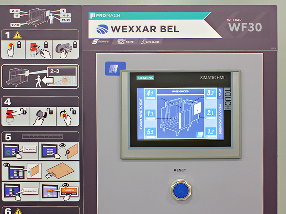 Graphical User Interface - Wexxar WISE System