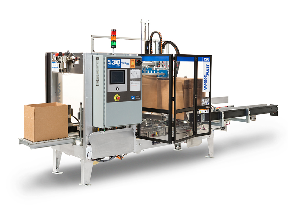 WF30 S-Series - Fully Automatic Case Former and Case Erector with Auto Adjust - Case Forming & Case Erecting Systems