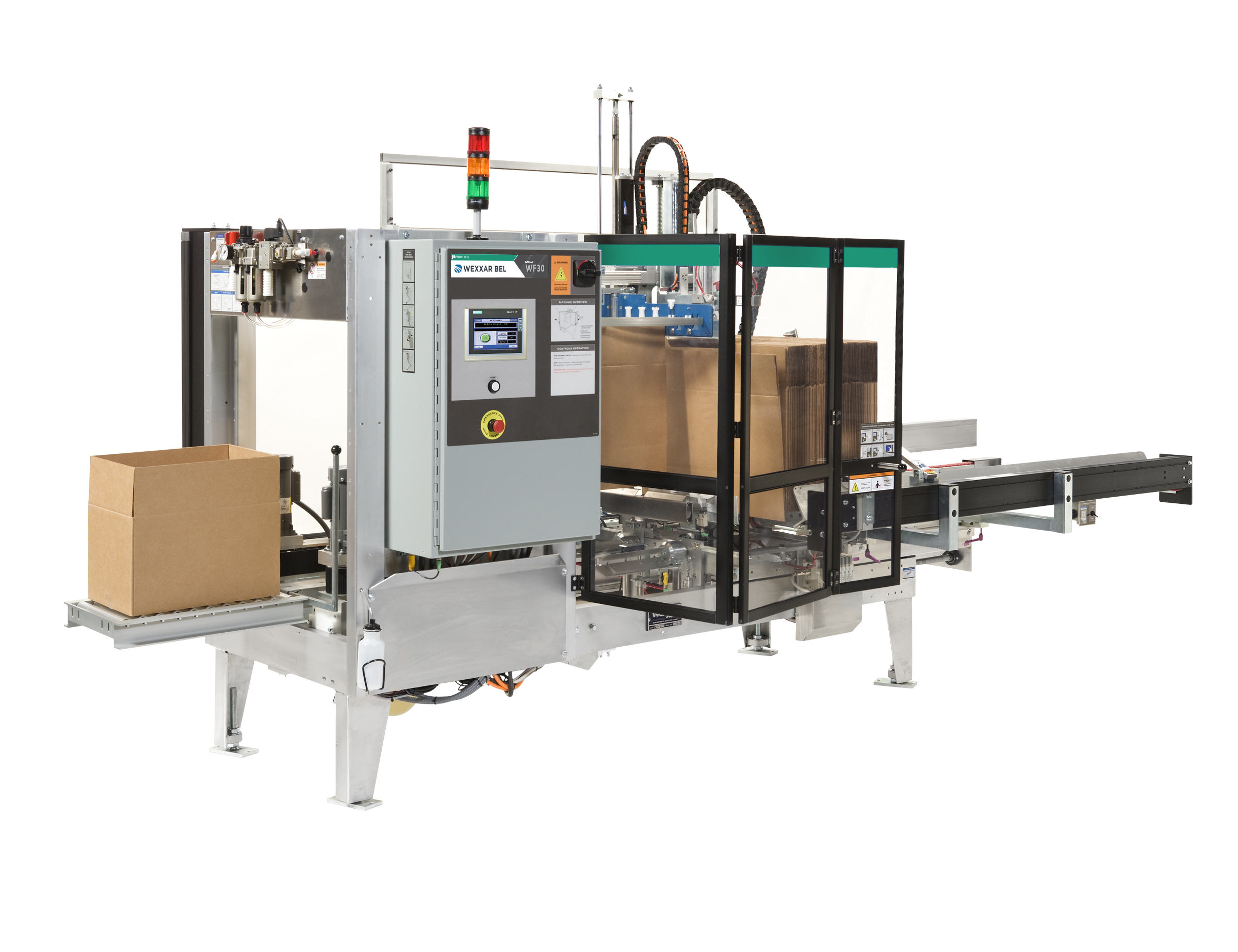 WF30 T - Fully Automatic Case Former and Case Erector - Case Forming & Case Erecting Systems