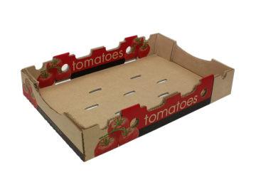 Common footprint produce tray