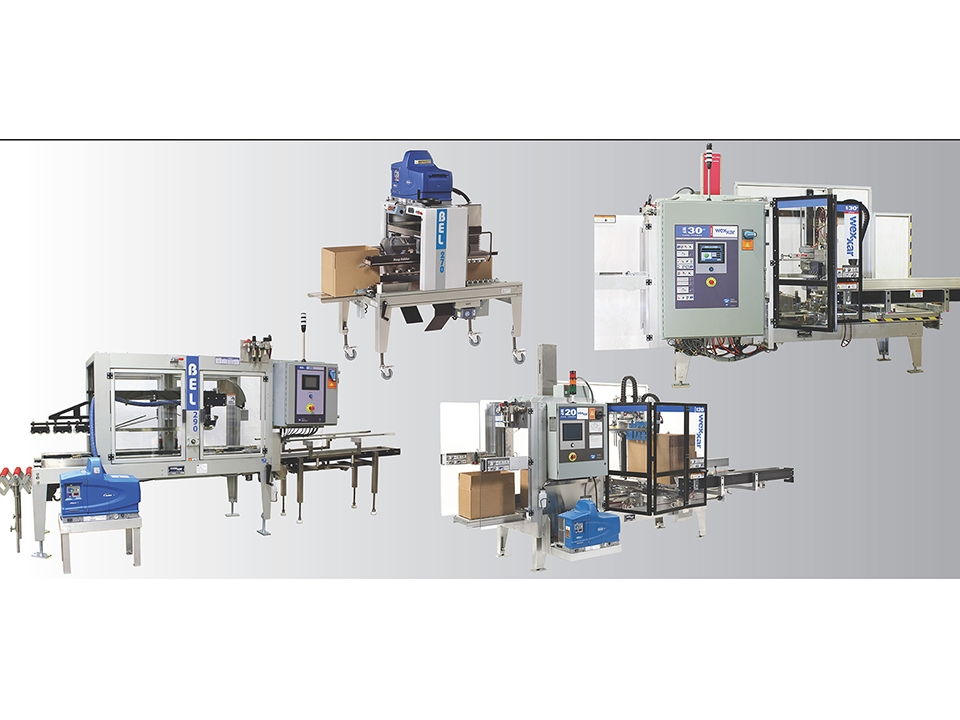 Hotmelt Sealing - Packaging Machinery Showcase - Wexxar/BEL Hot Melt Glue Machinery
